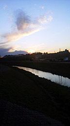 Sunset_ooborigawa